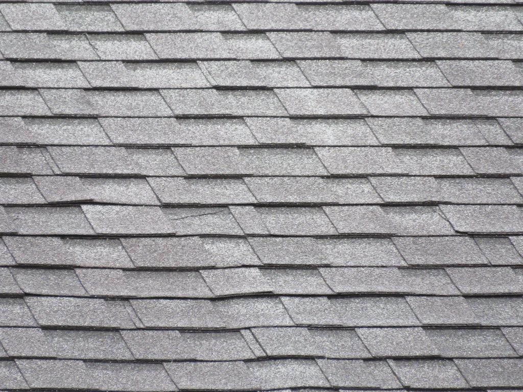 """""""Architectural"""", or """"dimensional"""", asphalt roofing shingles."""