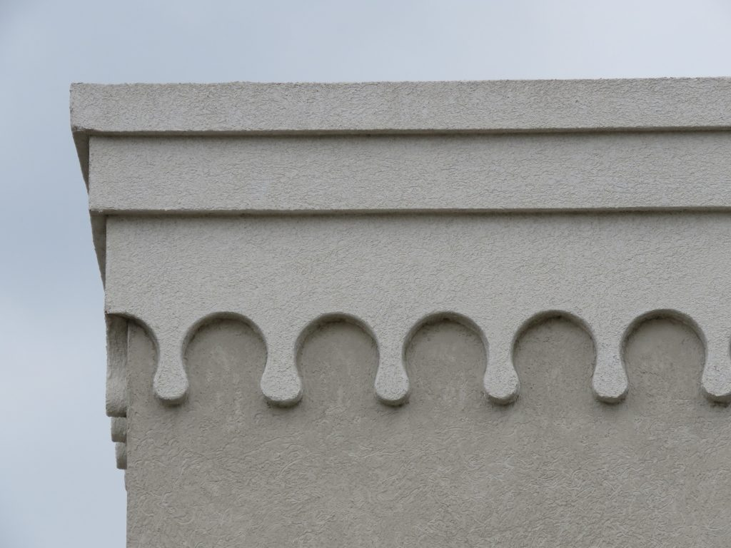 One reason EIFS is so popular is the ease with which decorative details can be created.