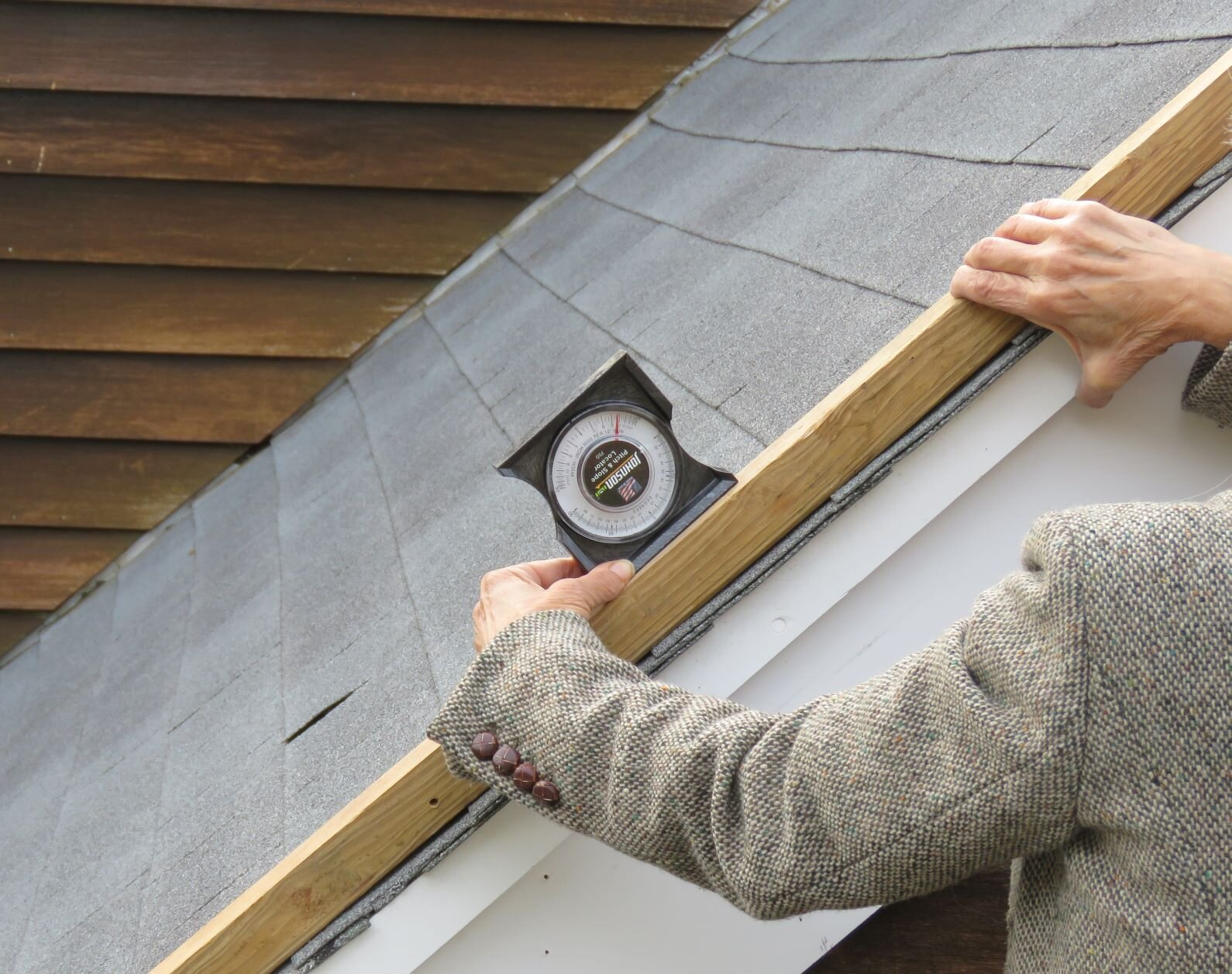 An accurate measurement of the slope is one of the most important pieces of information to have about a roof.